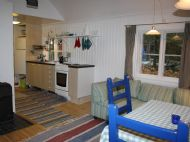 Visit Nyby Torpet allrummet med koksdel